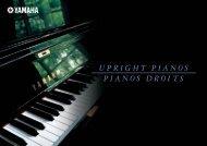 Piano Droit - YamahaPianoCenter.se