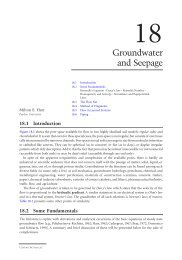 Chapter 18: Groundwater and Seepage - Free