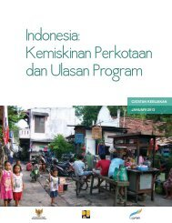 Indonesia: Kemiskinan Perkotaan dan Ulasan Program - psflibrary.org