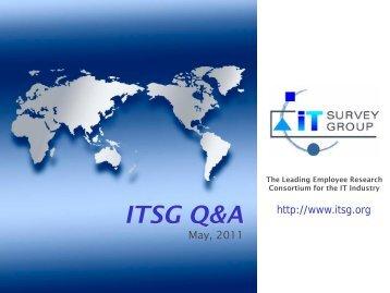 ITSG Q & A's