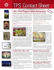 Tech Sheet 27: Signing Wk - Texas Photographic Society