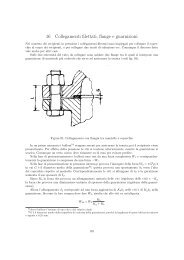 16 Collegamenti filettati, flange e guarnizioni - Gilera Bi4