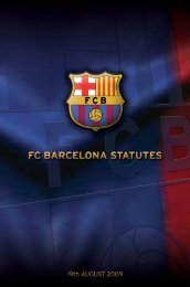 chapter 2 on the club members - FC Barcelona