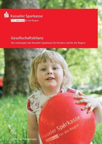 Gesellschaftsbilanz - Kasseler Sparkasse