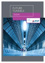 FUTURE TUNNEls - WSP Group