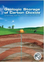Geologic Storage of Carbon Dioxide: Staying Safely ... - CO2CRC