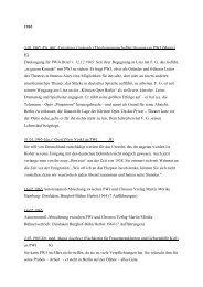 Liste der Briefe
