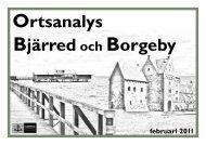 Ortsanalys Bjärred-Borgeby - Lomma kommun