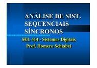Modelos de Sistemas Sequenciais - Iris.sel.eesc.sc.usp.br