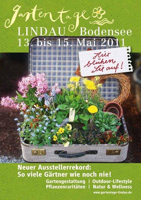 So viele Gärtner wie noch nie! - Gartentage Lindau