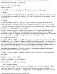 Herramientas novedosas para uso en epistaxis Innovative tools to ...