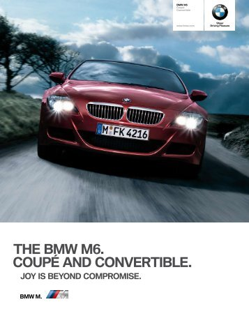 Power wherever the eye falls: the characteristic bonnet - Bmw