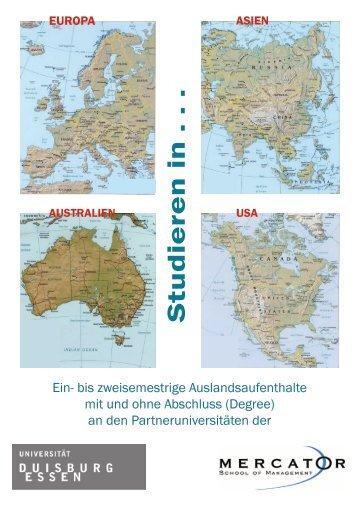 Studieren in Europa Asien Australien USA_06.01.indd - Mercator ...