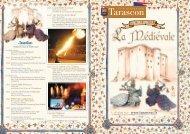 Le programme des Médiévales - Château de Tarascon