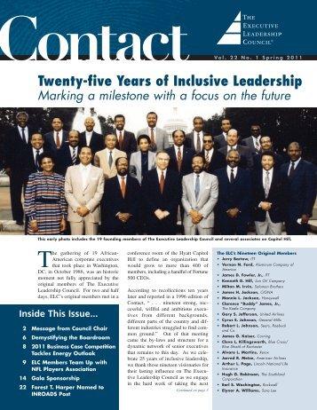 2011 - Executive Leadership Council