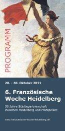 6. Französische Woche Heidelberg - art ort