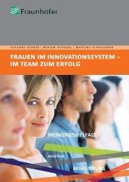 frauen im innovationssystem – im team zum erfolg - w-fFORTE
