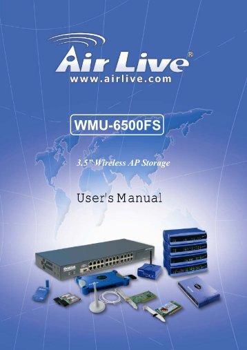 WMU-6500FS - AirLive