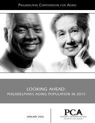 Looking Ahead: Philadelphia's Aging Population in 2015