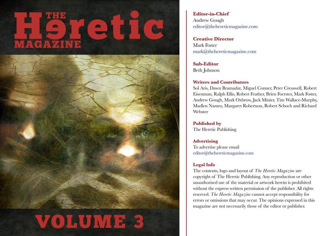 3 free magazines from thehereticmagazine com