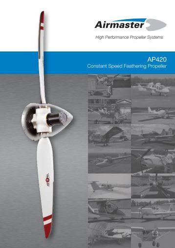 Constant Speed Feathering Propeller - Airmaster Propellers