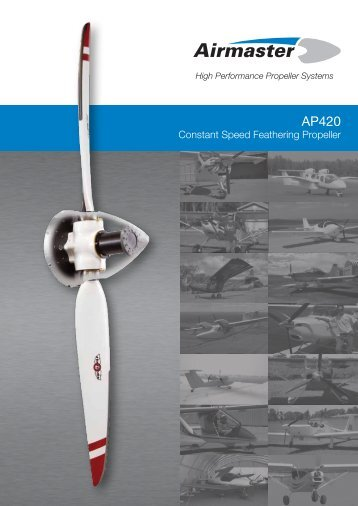 Constant Speed Feathering Propeller - Airmaster Propellers