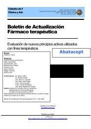 Boletín 7: Abatacept - Departamento de Ciencias Biológicas