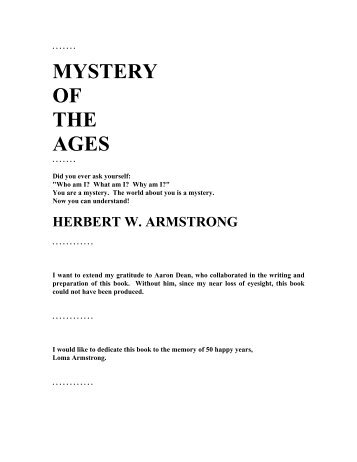 Mystery of the Ages.PDF - Blow the Trumpet