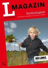 L-Magazin Nr. 01/2012 - PDF 2.5 M - Die Linke. - Land Brandenburg