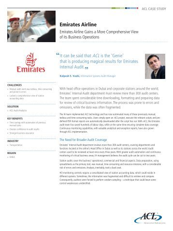 a case study of emirates airline Strategic marketing management: a study on emirates group  marketing management can be discussed by studying the procedures in case of the emirates airline, key.