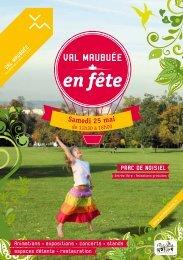 Val Maubuée en fête ! - Agglomération de Marne-la-Vallée / Val ...