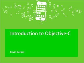 Introduction to Objective-C
