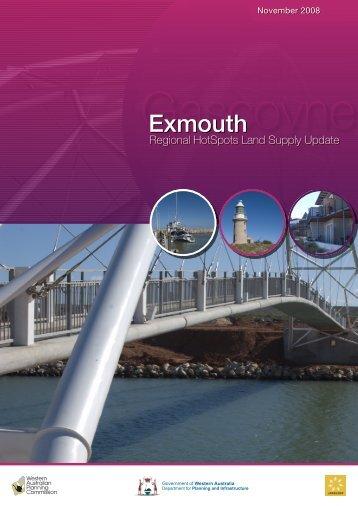 Exmouth Regional Hotspots Land Supply Update - Western ...