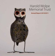 Dialogues: April 2010 to March 2011 - The Harold Wolpe Memorial ...