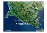 Concetti di base (file pdf) - Scuola di Scienze Ambientali