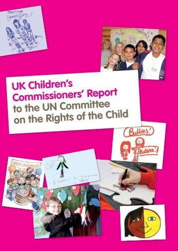 UK Children's Commissioners' - Children's Commissioner for Wales