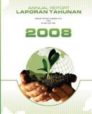 Laporan Tahunan NRE 2008