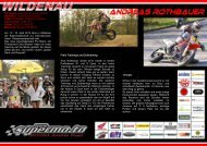 Rennteam: Supermo.to/ Honda Austria Bewerber: Team Auner ...