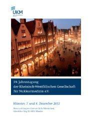 Page 1 Page 2 Veranstalter Rheinisch-Westfälische Gesellschaft für ...