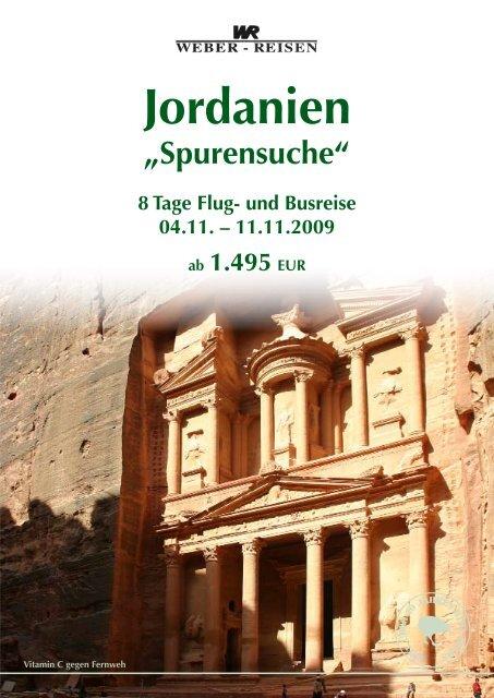 Jordanien - Weber Reisen