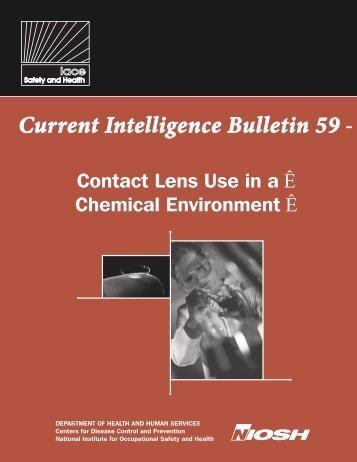 Current Intelligence Bulletin 59 - Centers for Disease Control and ...