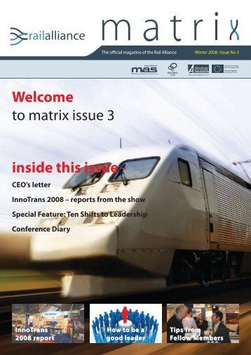Issue 3 - Rail Alliance