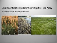 Avoiding Plant Reinvasion: Theory Practice, and Policy