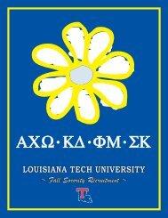 ΑΧ Ω Κ∆ ΦΜ ΣΚ - Louisiana Tech University