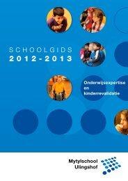 schoolgids 2012-2013. - Stichting Speciaal Onderwijs Noord