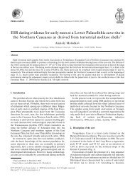 Quaternary Science Reviews, Volume 20, Issues 5-9, 1 December ...
