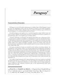 Salud en Paraguay - RAM ==> Red para el Desarrollo de los ...
