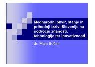 Predstavitev Maja Bučar
