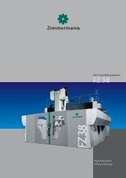 FZ38 - Portal Milling Machine - galika