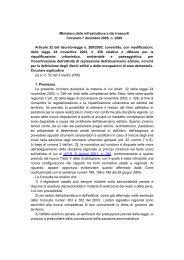 Circolare n.2699 - 07 Dicembre 2005 - Regione Calabria ...